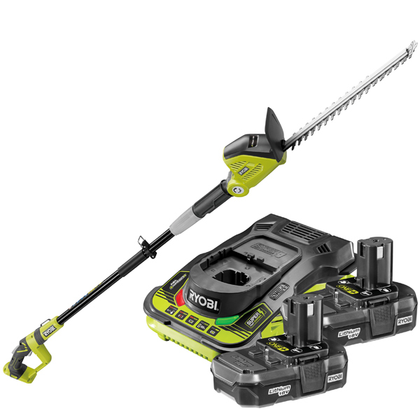 Ryobi 18v OPT1845 ONE+ Hedge Trimmer Kit With 2 x 1.3Ah Batteries