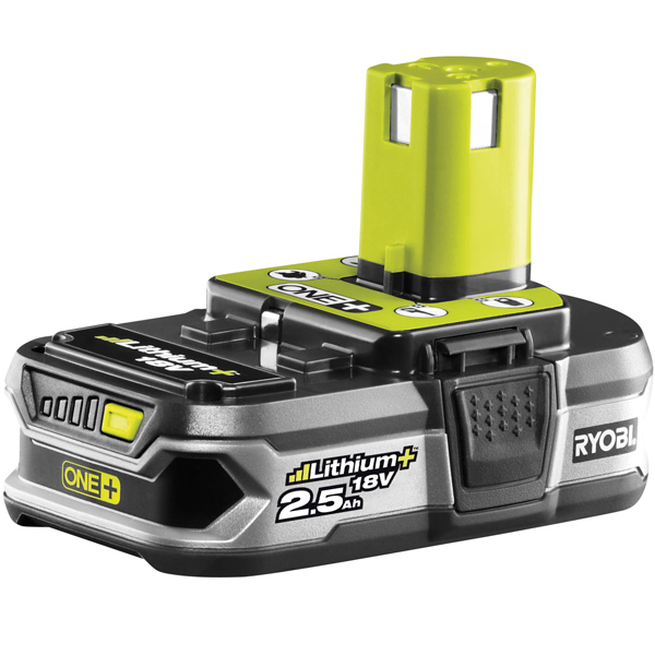 Ryobi RB18L25 18V ONE+ 2.5Ah Lithium+ Battery