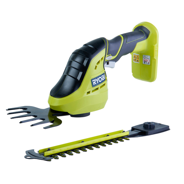 Ryobi OGS1822 18V ONE+ Cordless Grass Shear and Shrubber Body Only