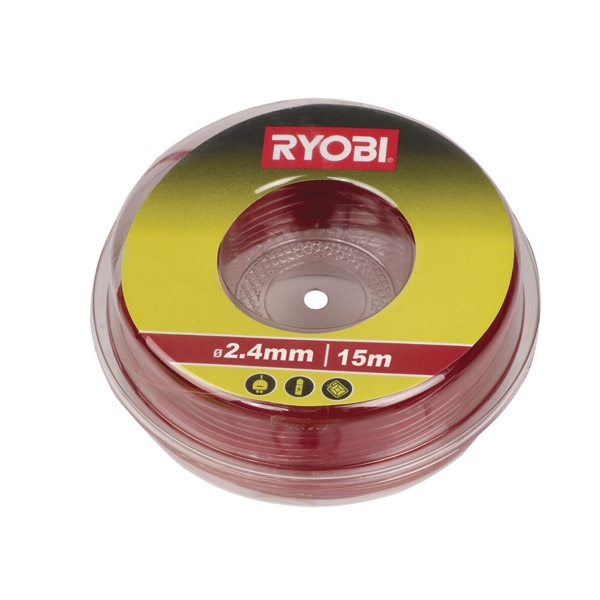 Ryobi RAC104 / LTA012 2.4 mm Cutting Line (Red)