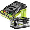 Ryobi RBC18L50 18V ONE+ 5.0Ah Battery and Charger Kit