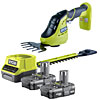 Ryobi ONE+ Grass Shear and Shrubber Starter Kit OGS1822-213