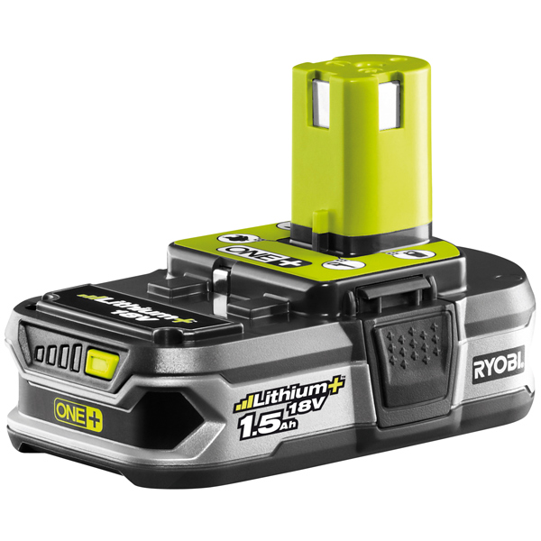 Ryobi RB18L15 18V ONE+ 1.5Ah Lithium+ Battery