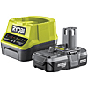 Ryobi RC18120-113 18V ONE+ Lithium 1.3Ah Battery & Charger