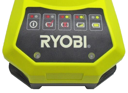 Charging a Ryobi 18V Battery Pack