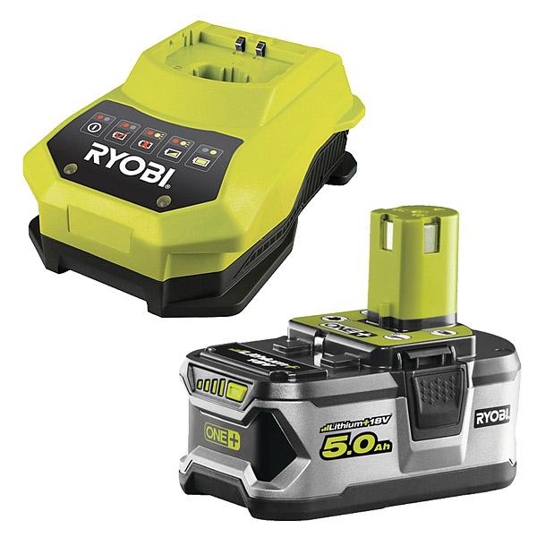 Ryobi Bcl1418h Amp Rb18l50 Battery Amp Charger Kit