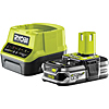 Ryobi 18v Charger and 1.5Ah Lithium Battery
