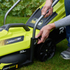 Ryobi RLM18X33H50 33cm 18v Cordless Lawnmower w/ 5.0Ah Battery and Charger
