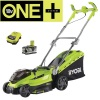Ryobi RLM18X36150 18v Lawnmower with 1 x 5Ah & Charger