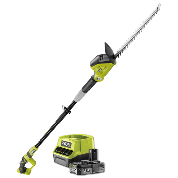 Ryobi Rpt184520 18v One Extendable 45cm Hedge Trimmer Starter Kit Ryobi ry39500 hedge trimmer parts. ryobi tools uk