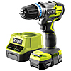Ryobi R18PDBL13 Brushless Percussion Drill & 1.3Ah Battery