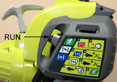Ryobi RPH26E - Warm Start and Flooded Start Guide