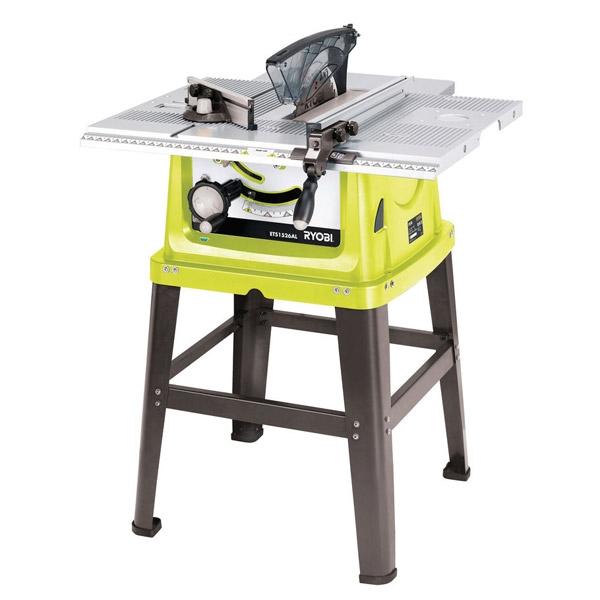 Ryobi ets1526alhg 254mm table saw for 10 table saw ryobi