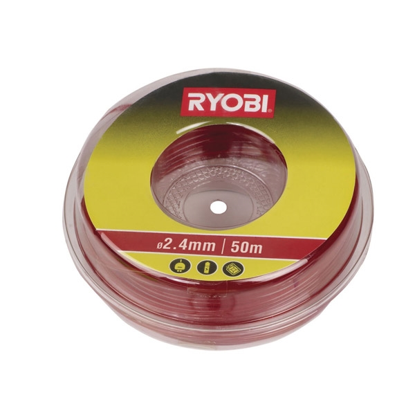 Ryobi RAC105 / LTA013 2.4 mm Cutting Line (Red)
