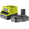 Ryobi 18V ONE+ 2.0Ah Battery and Charger Kit RC18120-120