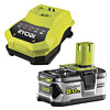 Ryobi BCL1418H & RB18L50 Battery & Charger Kit
