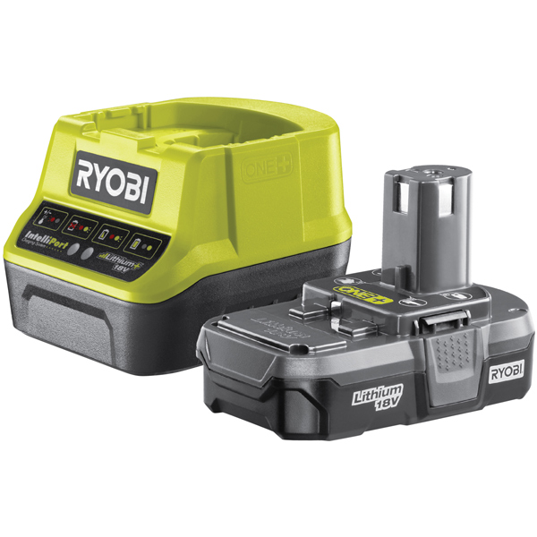 Ryobi RC18120-113 18V ONE+ 1.3Ah Battery and Charger Kit
