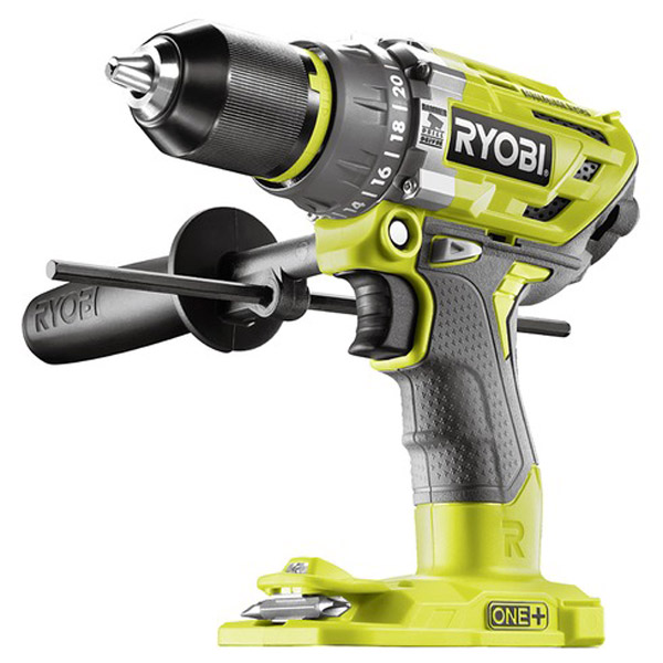 Ryobi R18PD7-0 18V ONE+ Cordless Brushless Percussion Drill (Zero Tool)
