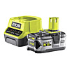 Ryobi 5.0Ah Battery and Charger Kit RC18120-150 18V ONE+
