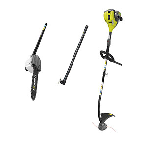 Ryobi RLT30 Line Trimmer, Extension Bar & APR-04 Pruner Kit