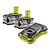 Ryobi 5.0Ah Battery & Charger Kit with RC18150 & 2 x RB18L50 Batteries