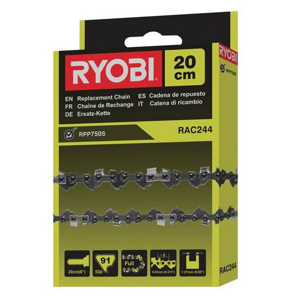 Ryobi Rac244 Replacement 20cm Pruner Chain