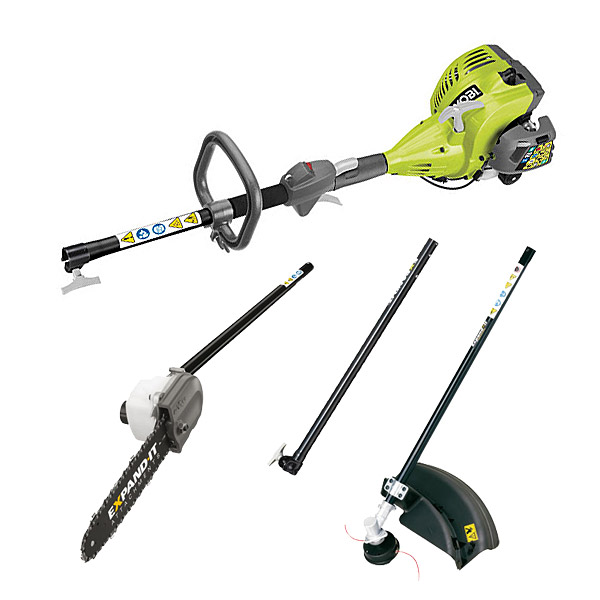 how to change trimmer line on ryobi expand it