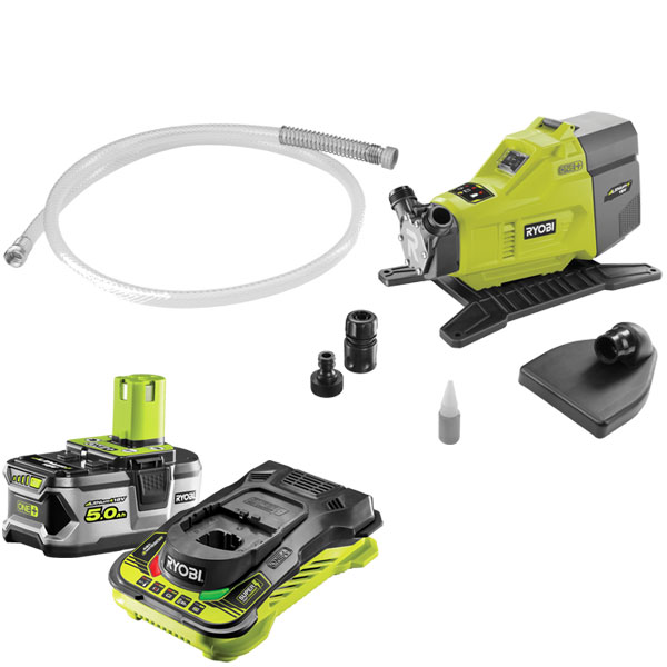 Ryobi ONE+ Water Transfer Pump Starter Kit R18TP-150
