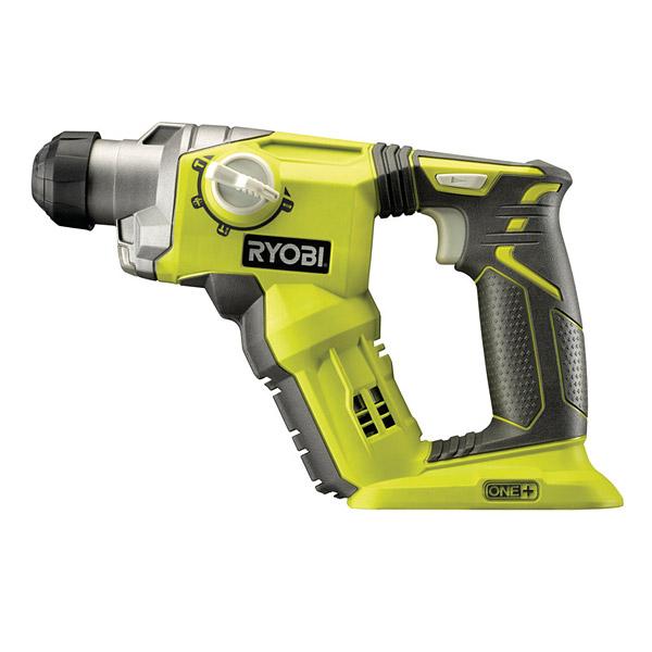 ryobi r18sds 0 one 18v sds rotary hammer drill. Black Bedroom Furniture Sets. Home Design Ideas
