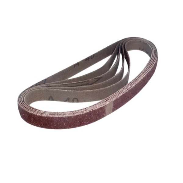 13mm x 457mm 120G Sanding Belts (Pack Of Five)