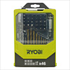 Ryobi RAK46MIX Drilling/Driving Bit Set (46 pcs)
