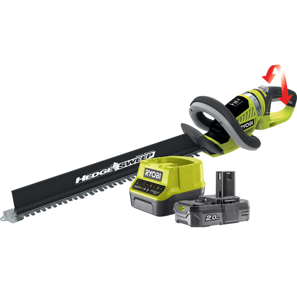 Ryobi Hedge Trimmer 18v One+ OHT1855R & RC18120-120