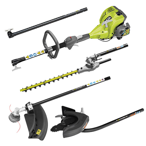 Ryobi RPH26E Trimmer / Edger / Hedge Trimmer Kit 4