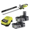 Ryobi 18v One+ OHT1855R Hedge Trimmer Kit with 2 x 1.3Ah Batteries