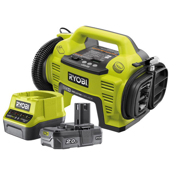 Ryobi 18v Inflator Kit One Plus c/w R18I-0 & RC18120-120