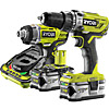 Ryobi R18PD-RID1801M-KIT Percussion Drill and Impact Driver Kit