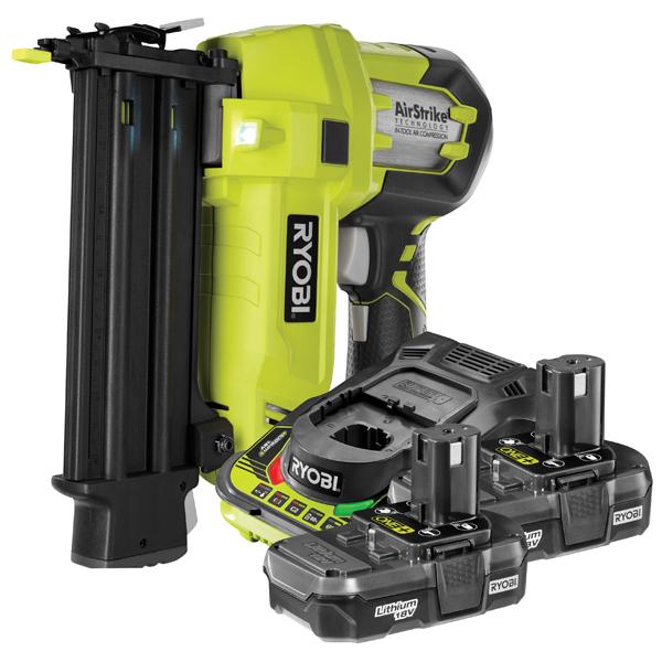 Ryobi R18N18G 18 Gauge Nailer & Battery kit